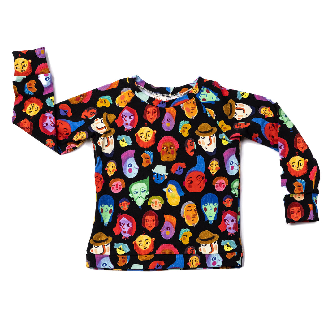 Toddler Sweatshirt - The Whole Wide World