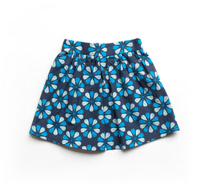 Toddler Skirt - Blue Kurbits
