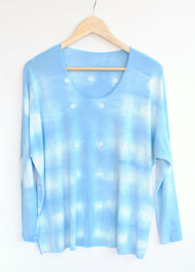 Women's Dolman Top - Hand-dyed Light