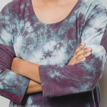 Load image into Gallery viewer, Women's Dolman Tunic - Silk Geode