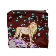 Load image into Gallery viewer, Zipper Pouch - Lion Hearted