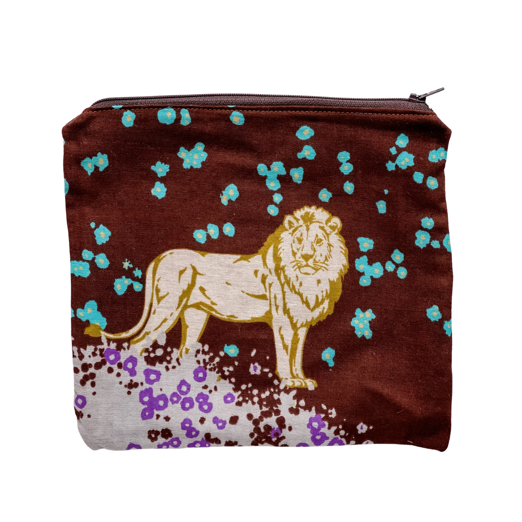 Zipper Pouch - Lion Hearted