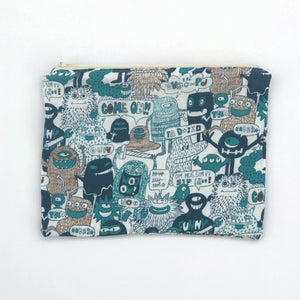 Zipper Pouch - Monsters