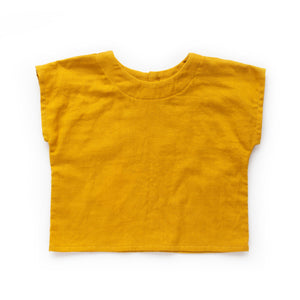 Baby & Toddler Box Top - Mustard
