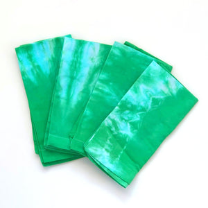Hand-dyed Cloth Napkins - Green