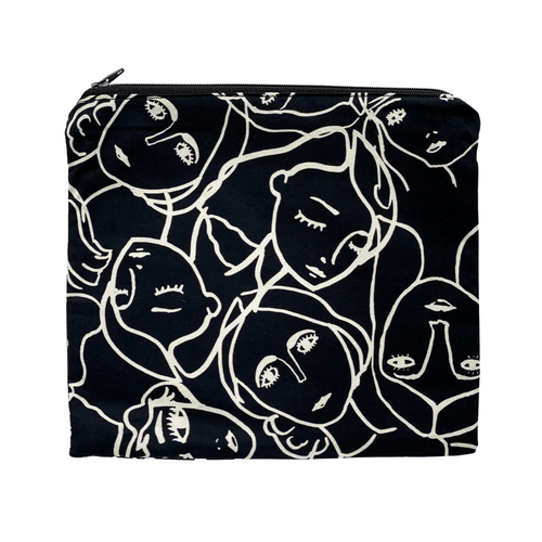 Zipper Pouch - Oh Lady