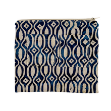 Load image into Gallery viewer, Lilla Barn Clothing | Reusable Fabric Zipper Pouch | Blue
