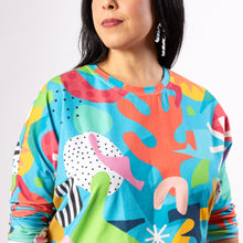 Load image into Gallery viewer, Lilla Barn x Ponnopozz - Playground Long Sleeve Grown-up Top