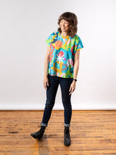 Load image into Gallery viewer, Lilla Barn x Ponnopozz - Playground Short Sleeve Grown-up Top