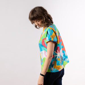 Lilla Barn x Ponnopozz - Playground Short Sleeve Grown-up Top