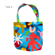 Load image into Gallery viewer, Ponnopozz Playground Cotton Totes
