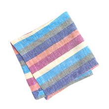 Load image into Gallery viewer, Linen Napkins - Rainbow