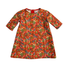 Load image into Gallery viewer, Lilla Barn Clothing | Toddler & Baby Dress | Tigers & Birds