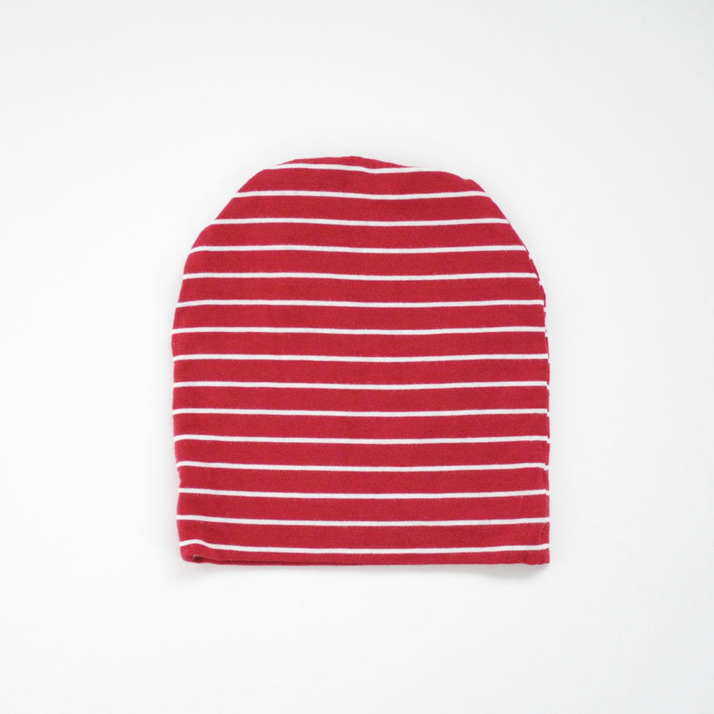 Infant Hat - Red & White