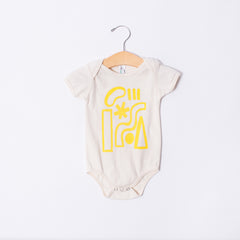 Infant & Child T-shirt - Yellow Shapes