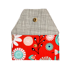 Lilla Barn Clothing | Red Snap Pouch - 1