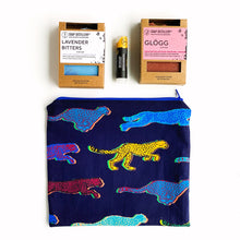 Load image into Gallery viewer, Zipper Pouch - Cheetahs