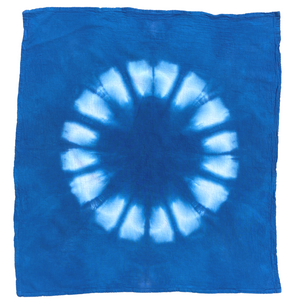 Hand-dyed Tea Towel - Rebirth