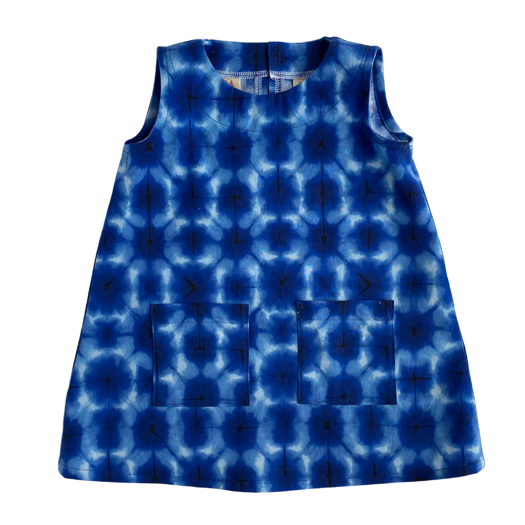 Toddler Sleeveless Dress - Under Water - 2T