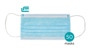 (50) Medical Surgical Masks + 4 FREE Cloth Masks! FDA EUA Manufacturer
