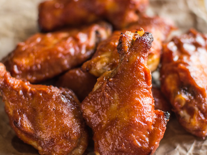Small BBQ Chicken Wings - Food Village