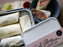 Load image into Gallery viewer, Bean Burrito - Family Size - Food Village