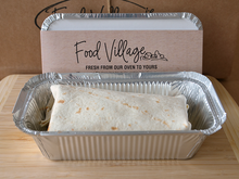 Load image into Gallery viewer, Bean Burrito - Individual Portion - Food Village