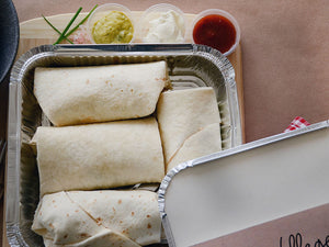 Bean Burrito - Family Size - Food Village