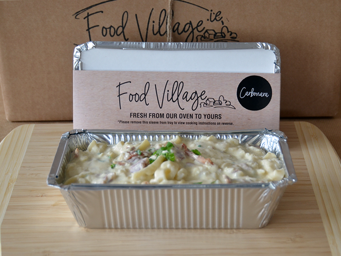Wholesale Chicken, Bacon & Mushroom Carbonara - Food Village