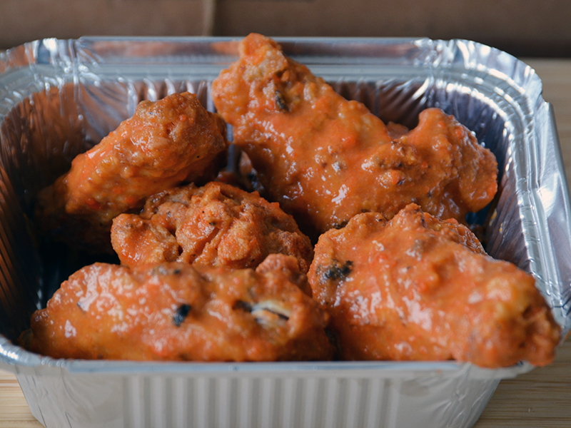 Small Hot Sauce Chicken Wings - Food Village