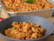 Load image into Gallery viewer, Chicken & Chorizo Paella - Individual Portion - Food Village