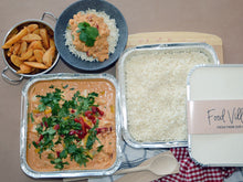 Load image into Gallery viewer, Red Thai Chicken Curry & Rice - Family Size - Food Village