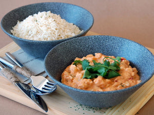 Red Thai Chicken Curry & Rice - Family Size - Food Village