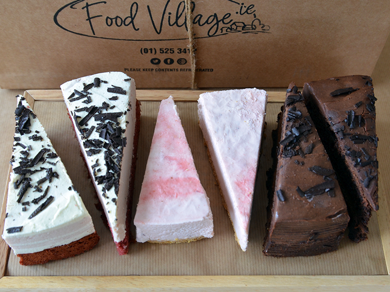 Decadent Dessert Selection - 6 Slices - Food Village