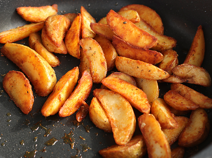 Crispy Potato Wedges - Food Village