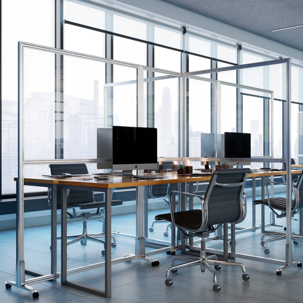 Obex Clear Acrylic Privacy Screens