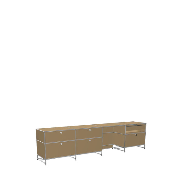 Storage Cabinet with Desk - Storage- USM-ONE 52 Furniture