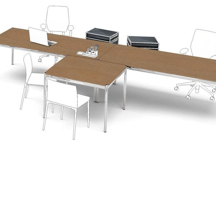 Haller Table Classic, Wooden Table - Tables- USM-ONE 52 Furniture