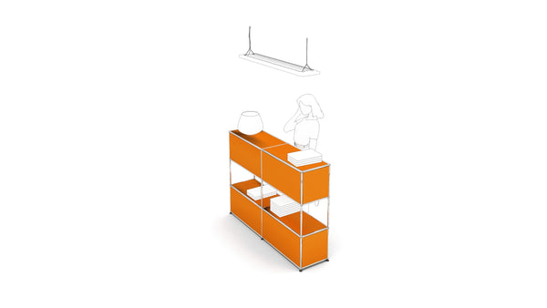 Information Counter - Storage- USM-ONE 52 Furniture