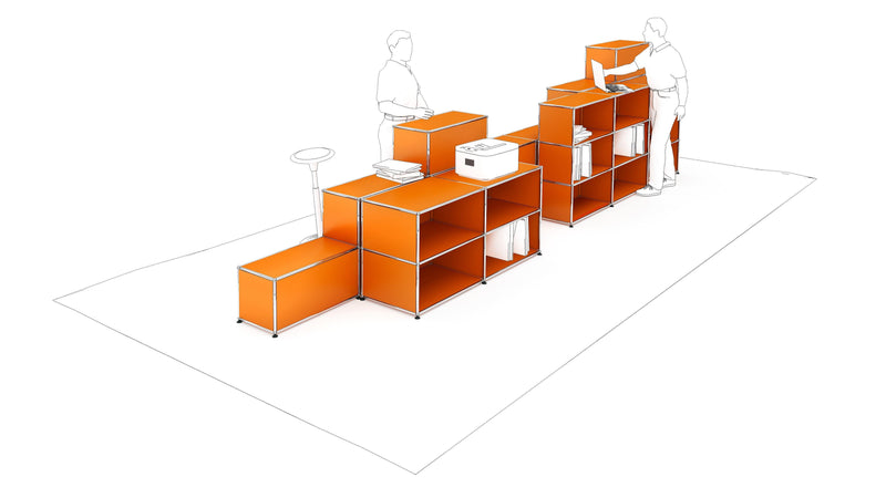 Workstation Storage - Storage- USM-ONE 52 Furniture