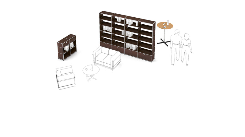 Bookshelf - Storage- USM-ONE 52 Furniture