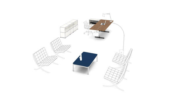 Rectangular Table - Tables- USM-ONE 52 Furniture
