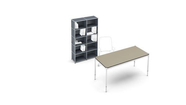 Rectangular Desk - Tables- USM-ONE 52 Furniture