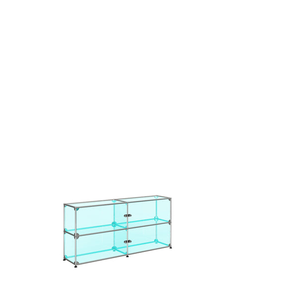Glass showcase Medium - Storage- USM-ONE 52 Furniture