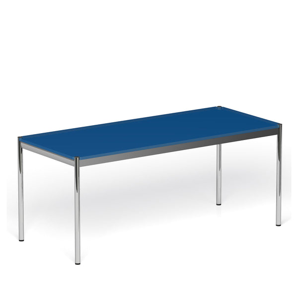 Classic Dining Table with Glass Table top - Tables- USM-ONE 52 Furniture