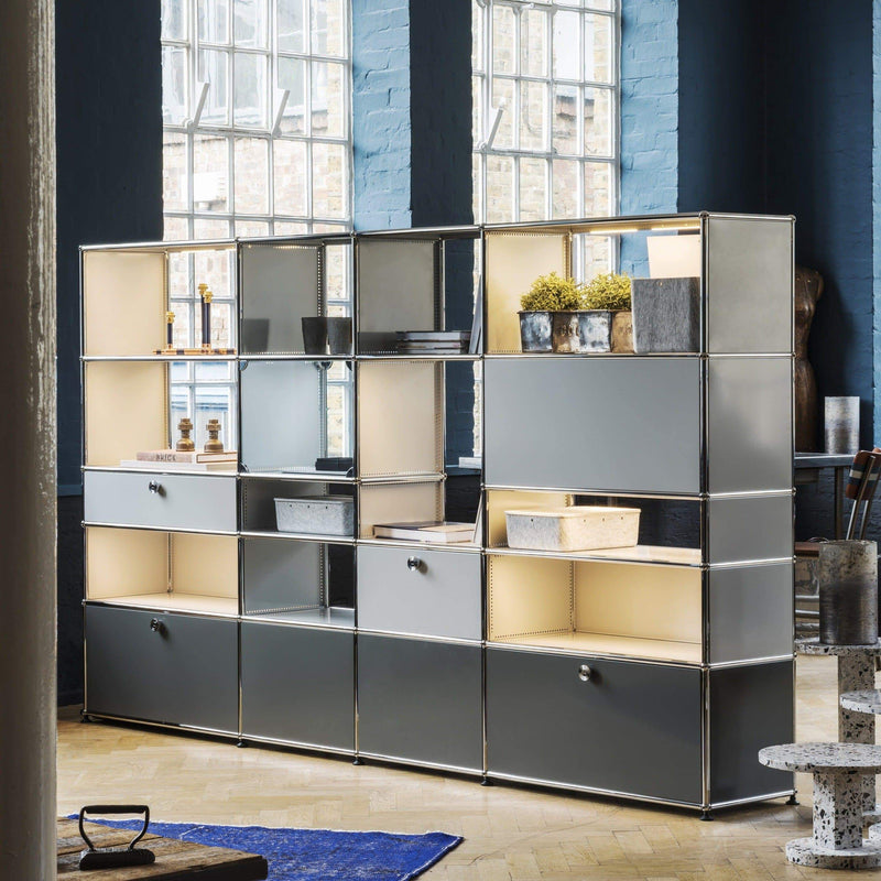 Haller E, Display Shelf 63 - Storage- USM-ONE 52 Furniture