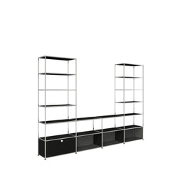 Media Console and Two Towers - Storage- USM-ONE 52 Furniture
