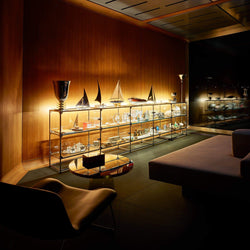 Glass Showcase with lighting - Storage- USM-ONE 52 Furniture