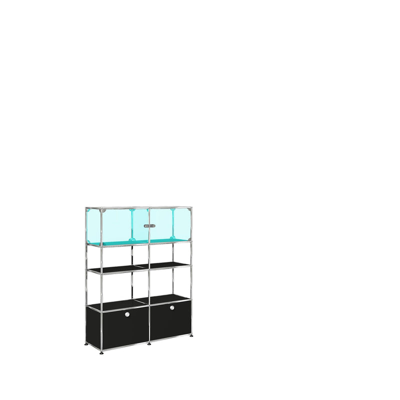 Glass Showcase - Storage- USM-ONE 52 Furniture