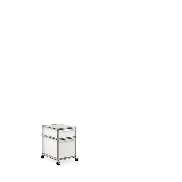 Mobile Pedestal with 2 Drawers - Storage- USM-ONE 52 Furniture